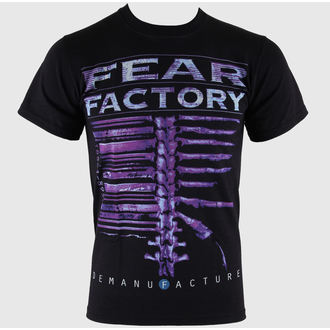 tričko pánské Fear Factory - Demanufacture - Black - LIVE NATION, LIVE NATION, Fear Factory