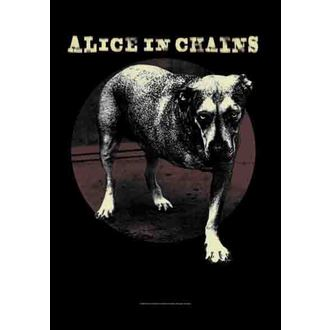 vlajka Alice In Chains - Grin, HEART ROCK, Alice In Chains