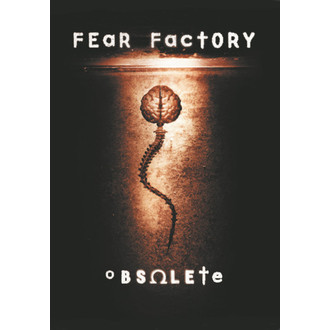 vlajka Fear Factory - Obsolete, HEART ROCK, Fear Factory