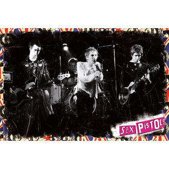 plakát Sex Pistols - On Stage - GB posters, Sex Pistols